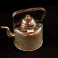 Чайник медный никелированный 1,2 л.